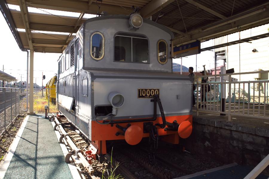 ラックレールはこの機関車で登っていたのです