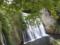 滝のように見える勝沼堰堤