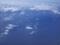 空から見る下北半島大間崎