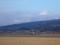 田んぼから見る富士山