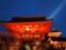 色飽和した清水寺