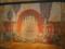 大食堂のフレスコ的壁画