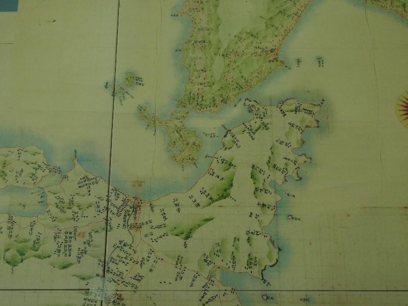 伊能大図より関門海峡