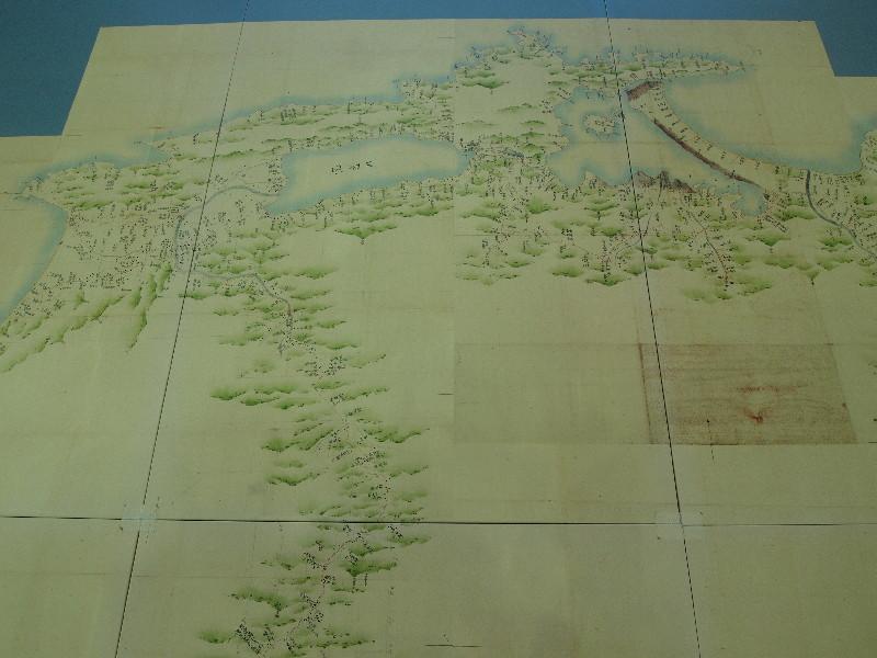 伊能大図より島根半島