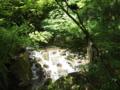 名古屋の市街地にも滝がある