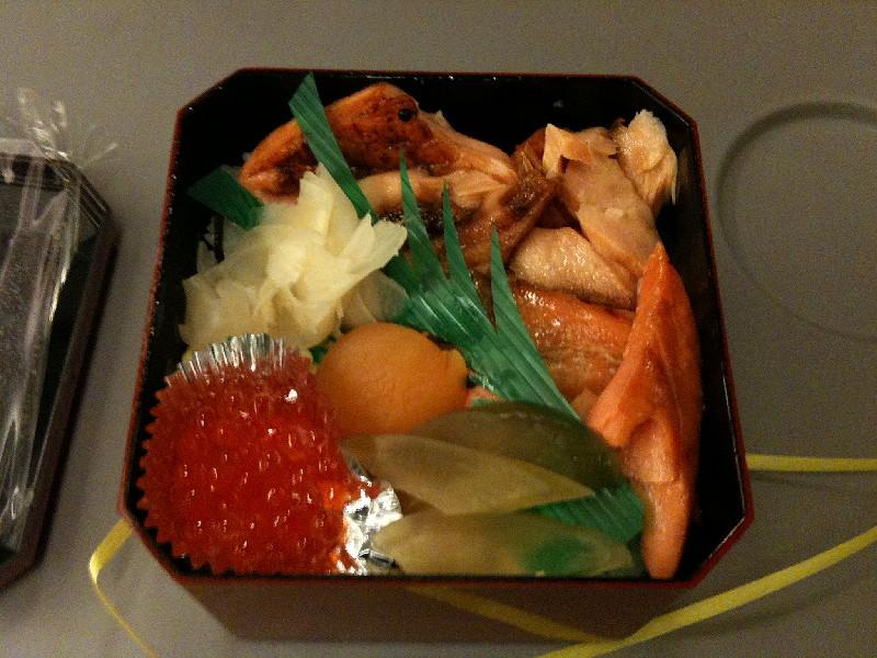 越後湯沢で買ったお弁当