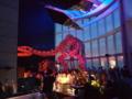 恐竜を肴に飲む