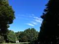 空、青すぎる