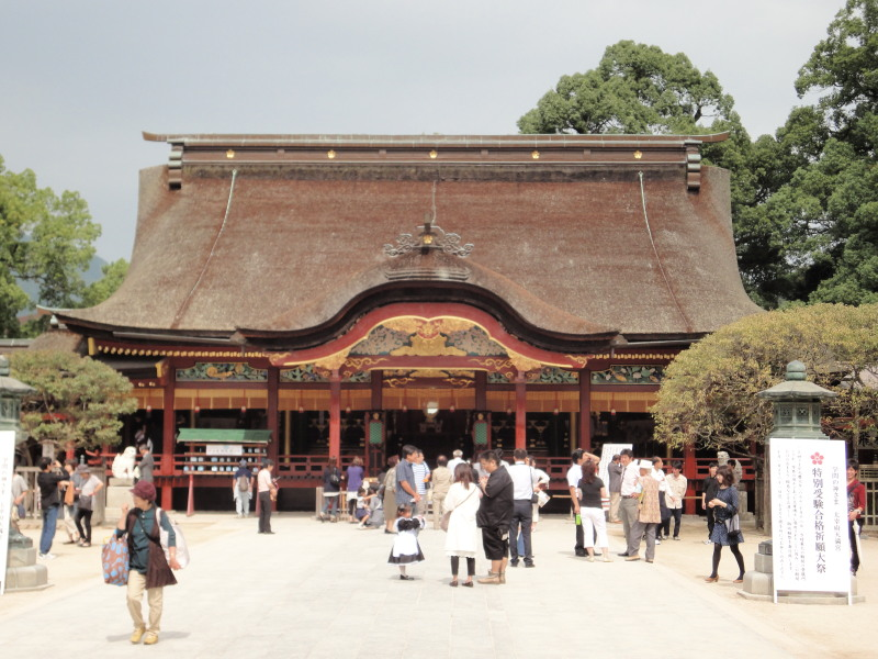 太宰府の本殿