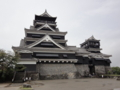 熊本城コンクリ天守閣