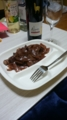 牛肉と玉葱の赤ワイン煮