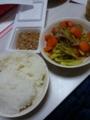 豚肉と野菜の辛子ポン酢炒め