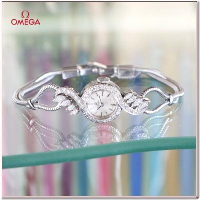 OMEGA(オメガ) マーキースダイヤのレディースアンティークウォッチ