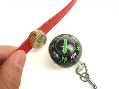 時計の磁気帯