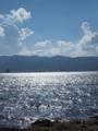 [諏訪湖] 湖に光る[長野]