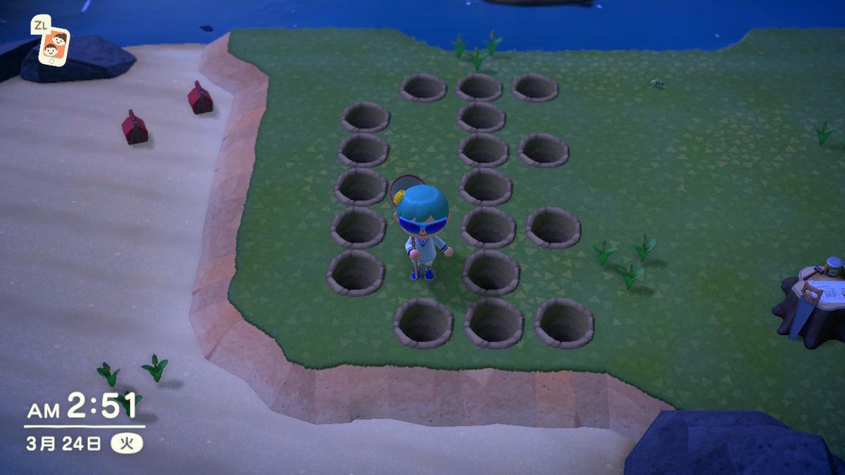 擬似タランチュラ島