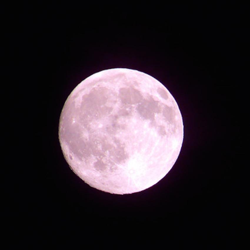 美しい満月の写真