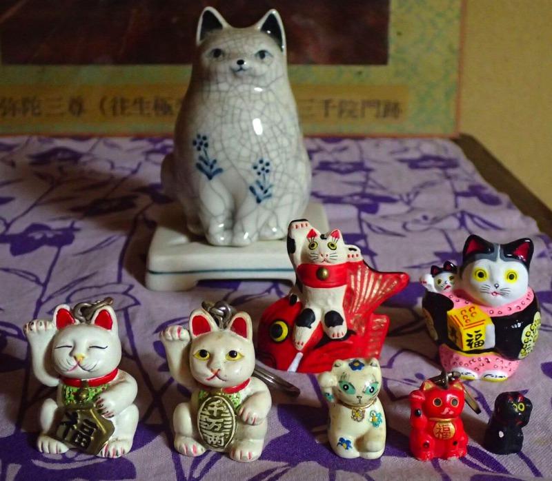 たくさんの招き猫たち