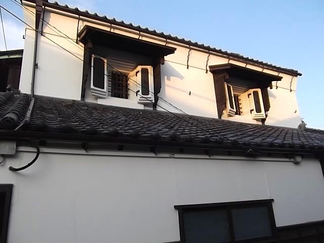 鎌倉の蔵のカフェの横