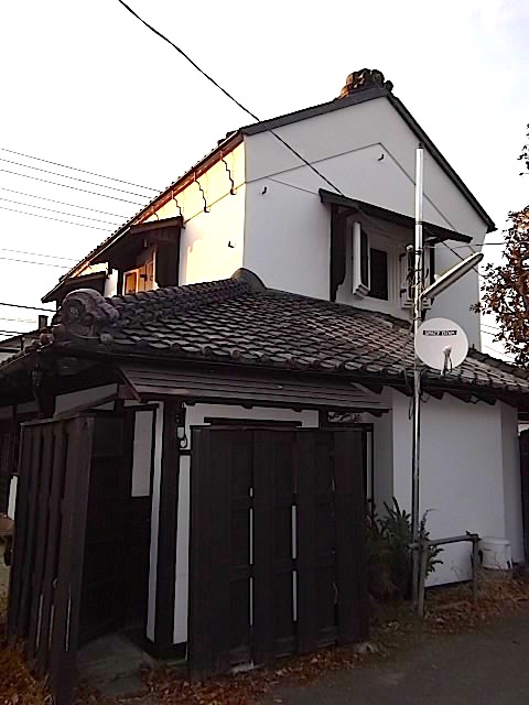 鎌倉の蔵のカフェの裏