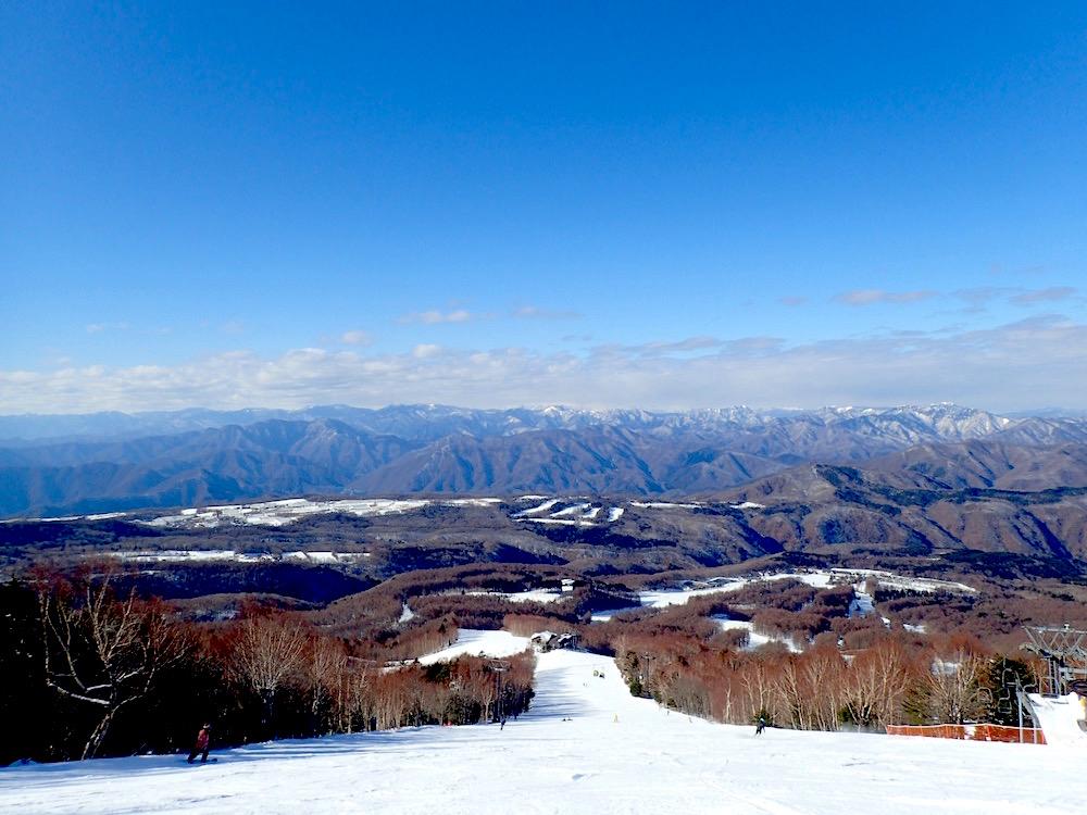 雪山頂上からのぱsのラマビュパノラマビュー