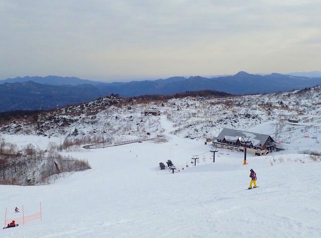 草津国際スキー場青葉山ゲレンデ