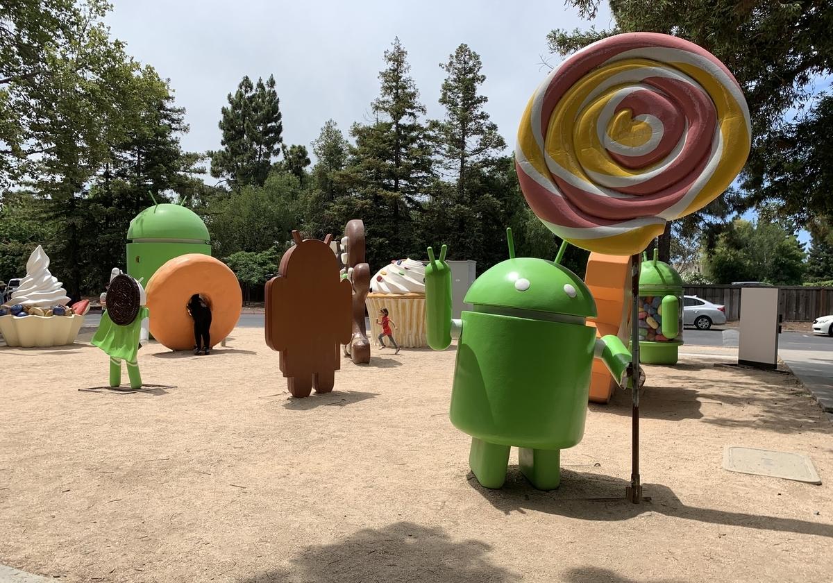 googleplex garden