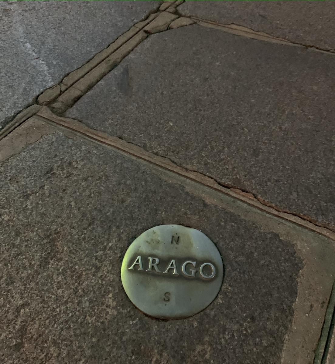 アラゴのメダル