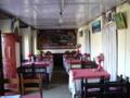 ロッジのレストラン