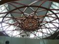 駅の天井。オサレ。