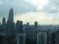 高いビルからの景色@マレーシアKL