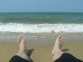 どうだい?誰もいない砂浜で3時間もちゃぷちゃぷしてるような俺と。
