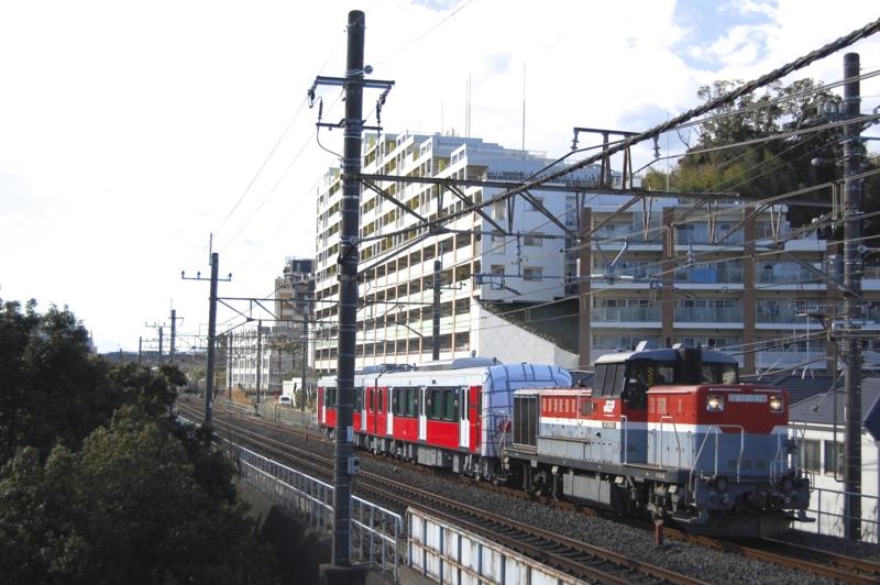 DE10 1576号機牽引静岡鉄道A3002F