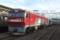 EH500-73号機牽引E721系1000番代P4-13,14編成