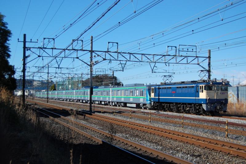 EF65 2139号機牽引東京メトロ16133F