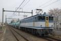 EF65 2127号機牽引8079列車
