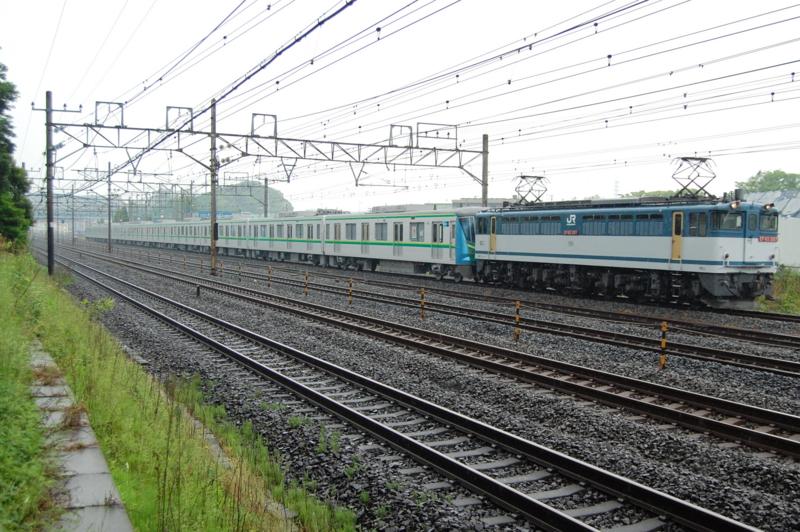 EF65 2117号機牽引東京メトロ16134F