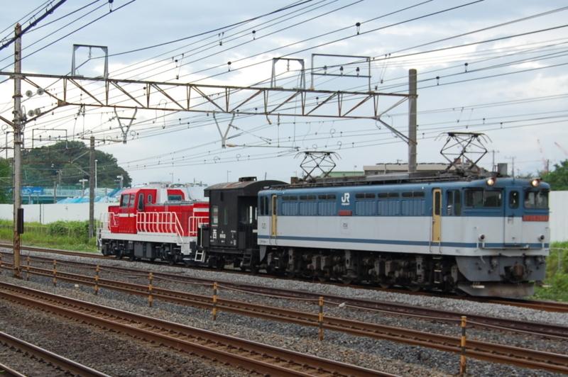 EF65 2086号機牽引DD200-901号機