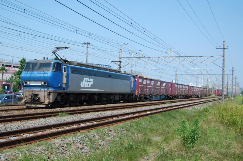 EF200-20号機牽引5095列車