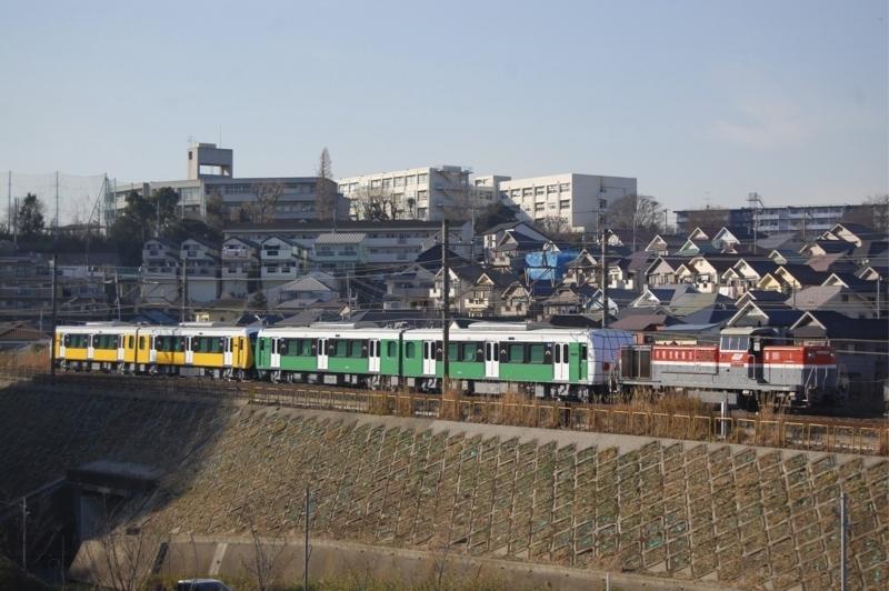 DE10 1749号機牽引静岡鉄道A3003F+3004F