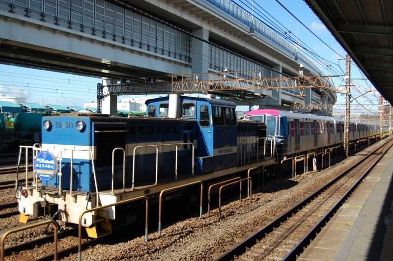 DD5519牽引都営12-691F