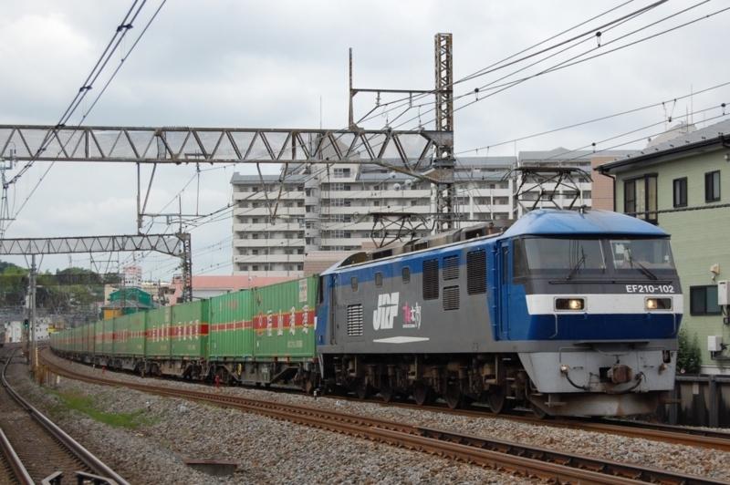 EF210-102號機牽引54列車
