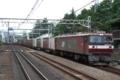 EH500-9号機牽引3086列車