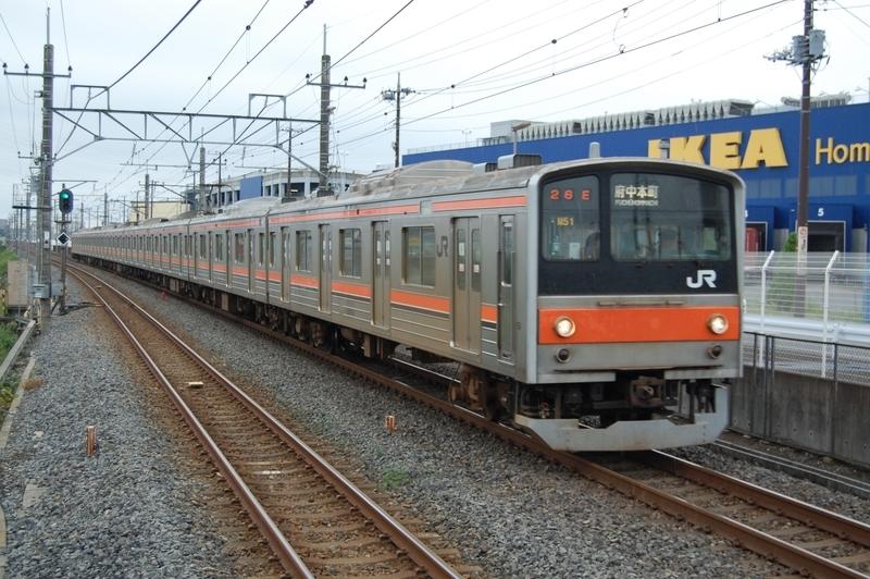 205系ケヨM51編成