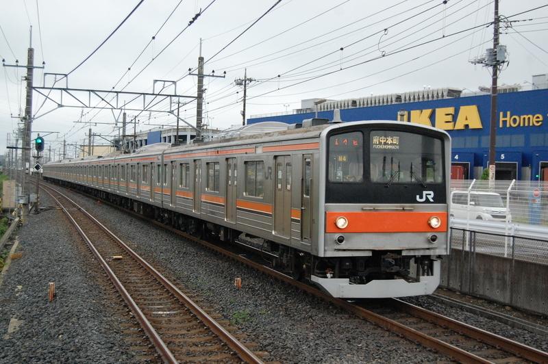 205系ケヨM4編成