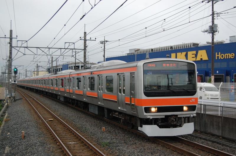 E231系ケヨMU34編成