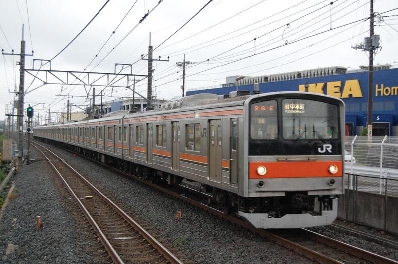 205系ケヨM6編成