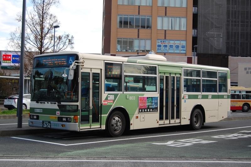 相鉄バス1803号車