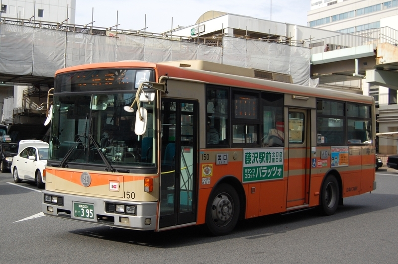 江ノ電バス富士新7E150号車