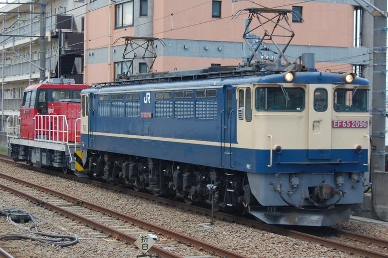 EF65 2096号機牽引HD300-32号機